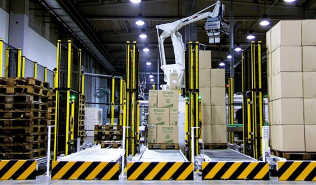 Pallettantropomorfo Selematic Spa Macchine Automatiche per l'Imballaggio