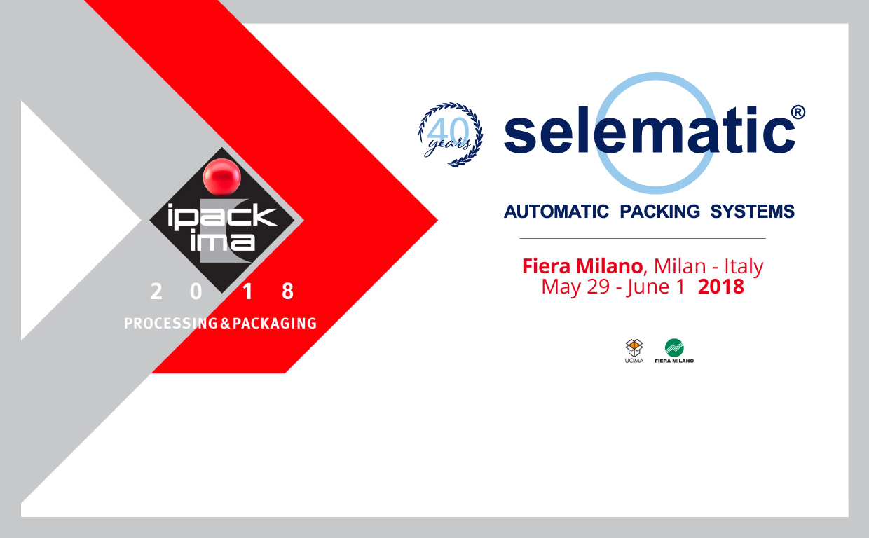 Selematic SpA all'IPACK-IMA 2018